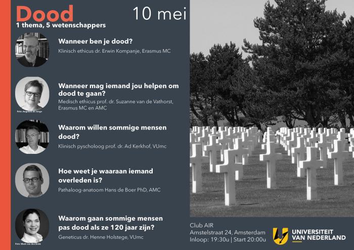 Promo UvNL Thema Dood