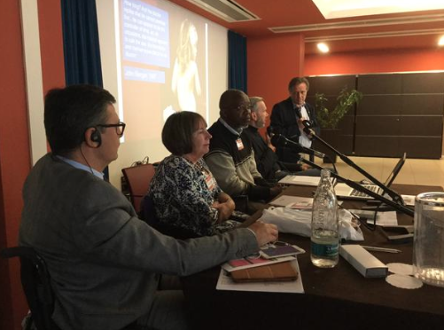 Panel discussion on Human Rights at the Equality2015 conference, Milan, Italy, 17 oktober 2015