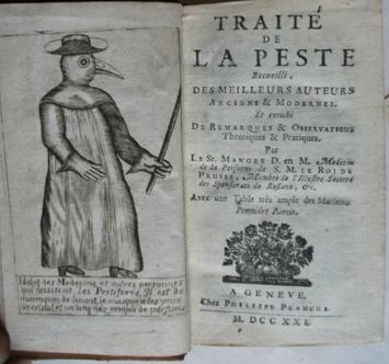 Traite de la Peste van Manget (1721)