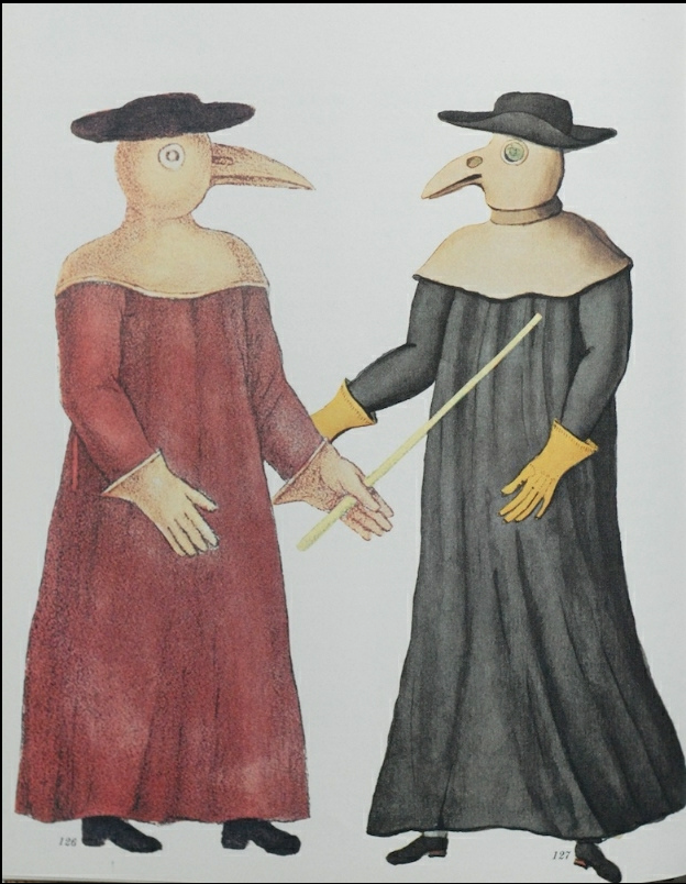 Pestdokters, Marseille 1720