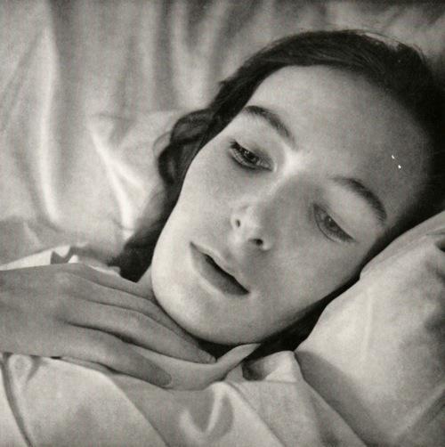 Jonge vrouw met een gemetastaseerd sarcoom van haar bovenbeen